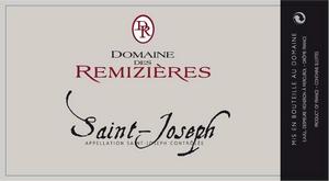 etiquette_domaine_remizieres_saint_joseph_rouge