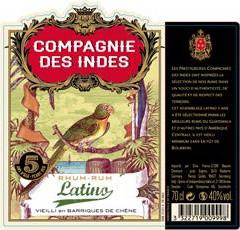 Rhum - Compagnie des Indes – Latino – 5 ans